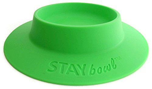STAYbowl-Tip-Proof-Bowl-for-Guinea-Pigs-and-Other-Small-Pets-Spring-Green-Large-34-Cup-Size-New-0