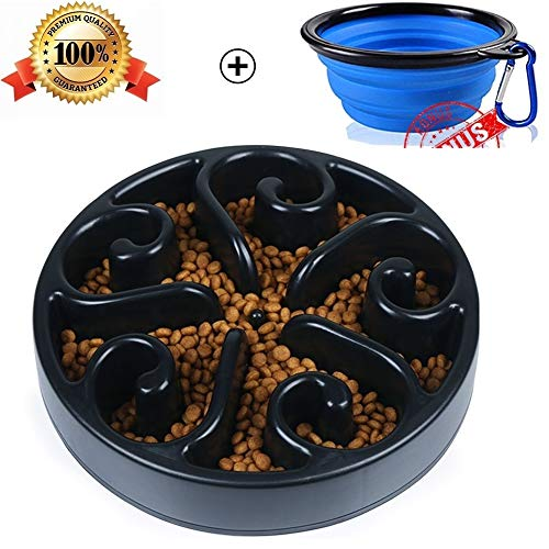 Slow-Feeder-Dog-Bowl-Bloat-Stop-Dog-Food-Bowl-Maze-Interactive-Puzzle-Non-Skid-Come-with-Free-Travel-Bowl-0