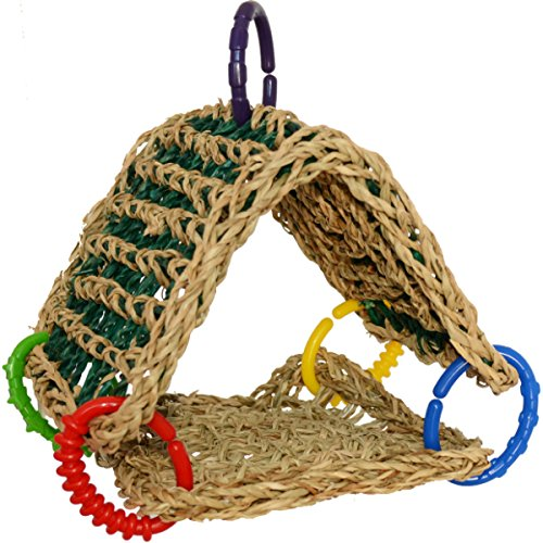 Super-Bird-Creations-Seagrass-Tent-Toy-for-Birds-0