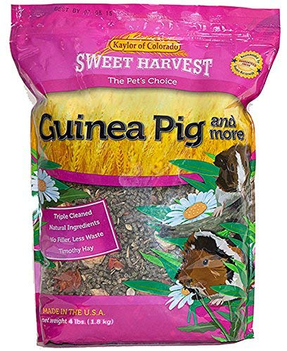 Sweet-Harvest-Guinea-Pig-and-More-4-lbs-Bag-Food-Mix-for-Guinea-Pigs-0