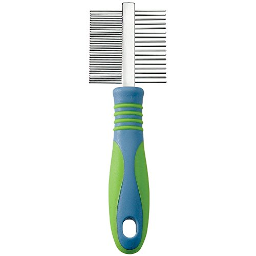 UGroom-Stainless-Steel-Pet-Mini-Comb-Fine-and-Coarse-7-12-Inch-0-0