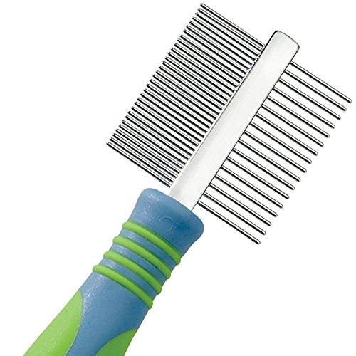 UGroom-Stainless-Steel-Pet-Mini-Comb-Fine-and-Coarse-7-12-Inch-0-1