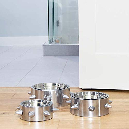 Unleashed-Life-Bruno-Collection–Stainless-Dog-Dish-Cat-Bowl-for-FoodWater-0-1