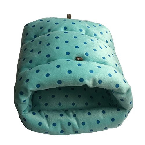 WOWOWMEOW-Guinea-Pigs-BedHamster-BedSmall-Animals-Warm-Hanging-Cage-Cave-Bed-0-0
