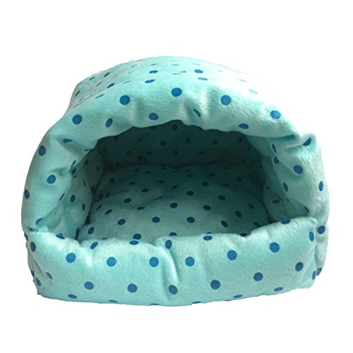 WOWOWMEOW-Guinea-Pigs-BedHamster-BedSmall-Animals-Warm-Hanging-Cage-Cave-Bed-0-1