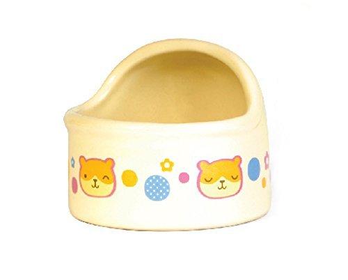 Wildforlife-Arc-Top-Ceramic-Small-Animal-Hamster-Bowl-0-0
