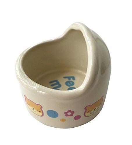 Wildforlife-Arc-Top-Ceramic-Small-Animal-Hamster-Bowl-0