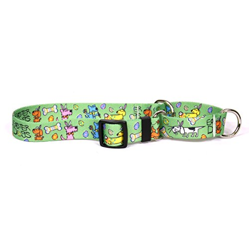 Yellow-Dog-Design-Easter-Dogs-Martingale-Dog-Collar-0