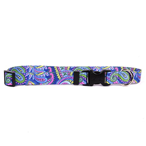 Yellow-Dog-Design-One-Size-Fits-All-Paisley-Power-Break-Away-Cat-Collar-Null-0