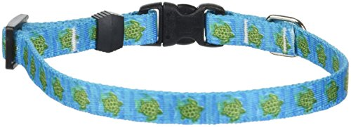 Yellow-Dog-Design-Sea-Turtles-Dog-Collar-Size-X-Small-38-inch-Wide-and-fits-Neck-Sizes-8-to-12-inches-0-0