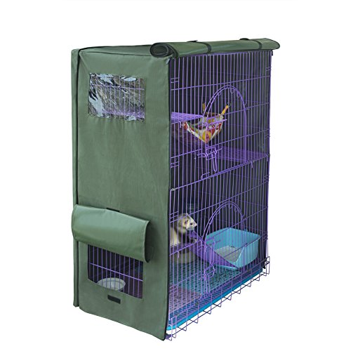 Yizhi-Miaow-Cover-for-Critter-Nation-Cage-Privacy-Cover-for-Bird-cage-Only-Comes-The-Cover-0-0
