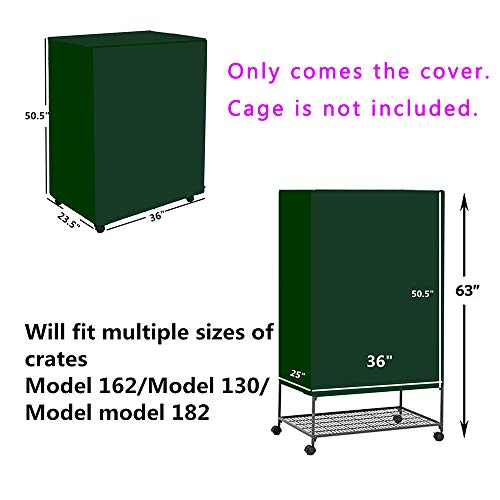Yizhi-Miaow-Cover-for-Critter-Nation-Cage-Privacy-Cover-for-Bird-cage-Only-Comes-The-Cover-0-1