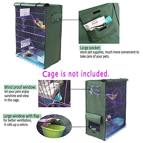 Yizhi-Miaow-Cover-for-Critter-Nation-Cage-Privacy-Cover-for-Bird-cage-Only-Comes-The-Cover-0-2
