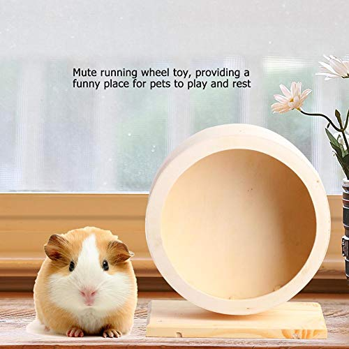 Yosooo-Small-Animals-Exercise-Wheel-Hamster-Pets-Wooden-Rest-Nest-Playing-Toy-0-1