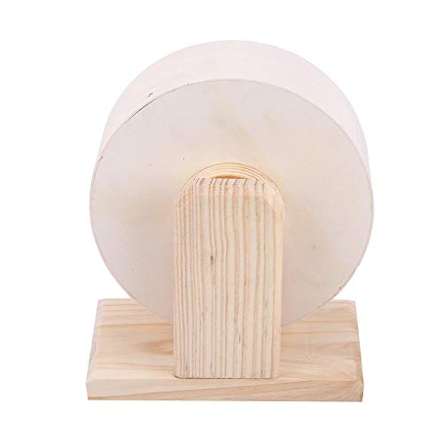 Yosooo-Small-Animals-Exercise-Wheel-Hamster-Pets-Wooden-Rest-Nest-Playing-Toy-0-2