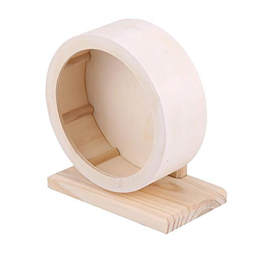 Yosooo-Small-Animals-Exercise-Wheel-Hamster-Pets-Wooden-Rest-Nest-Playing-Toy-0