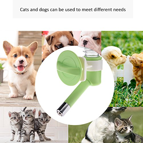 Yunt-Pet-Water-Dispenser-No-Drip-Small-Pets-Water-Bottle-280ML-Pet-Drinking-Bottle-Wall-mounted-Kettle-Water-Drinker-Pet-Water-Feeder-for-Hamsters-Rabbits-Small-Dogs-0-2