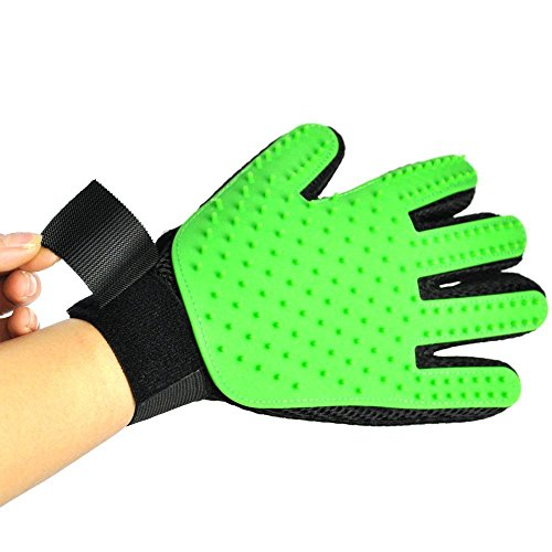 petbob-Pet-Grooming-GlovePet-Deshedding-GloveSoft-Gentle-Pet-Bath-Massage-MittSilicone-Pet-Dematting-Hair-Removal-Brush-Glove-Comb-for-Long-and-Short-Haired-Dogs-Cats-Bunnies-0-1