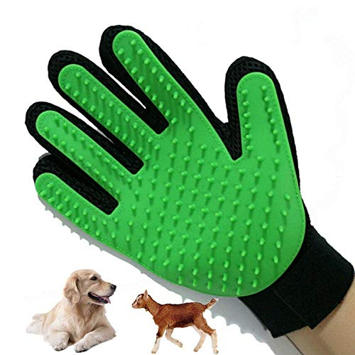 petbob-Pet-Grooming-GlovePet-Deshedding-GloveSoft-Gentle-Pet-Bath-Massage-MittSilicone-Pet-Dematting-Hair-Removal-Brush-Glove-Comb-for-Long-and-Short-Haired-Dogs-Cats-Bunnies-0