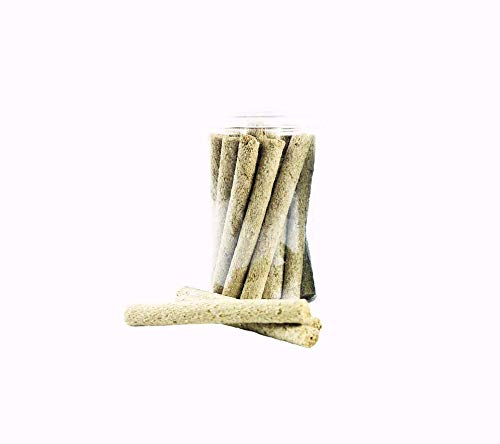 sharllen-20sticks-Natural-Gold-Oat-Grass-Molar-Rod-Pet-Snacks-Chew-Toys-for-Rabbit-Hamsters-Guinea-Pig-Chinchillas-Squirrel-and-Other-Small-Animals-0-0