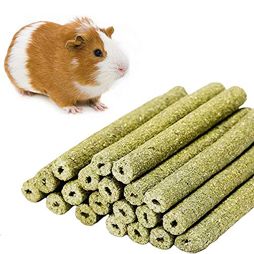 sharllen-20sticks-Natural-Gold-Oat-Grass-Molar-Rod-Pet-Snacks-Chew-Toys-for-Rabbit-Hamsters-Guinea-Pig-Chinchillas-Squirrel-and-Other-Small-Animals-0