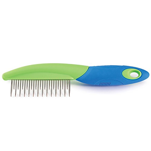u-groom-Handled-Combs–Easy-to-Use-Combs-for-Grooming-Dogs-Combo-Comb-7-0