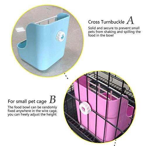 zswell-Hay-Food-Bin-Feeder-Hay-and-Food-Feeder-Bowls-Manger-Rack-for-Rabbit-Guinea-Pig-Chinchilla-and-Other-Small-Animals-0-0